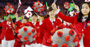 China Gifts Entire World COVID-19 Plush Toys Preceding Tokyo Olympic Games